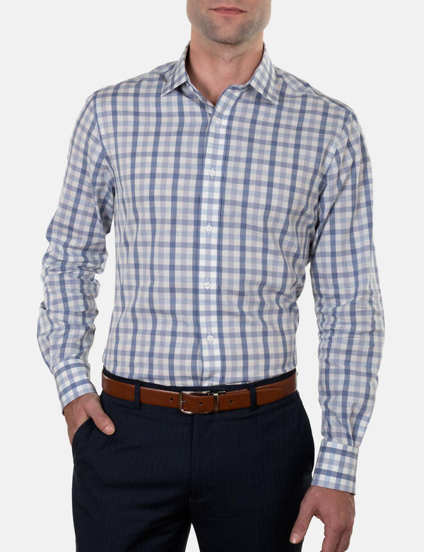 Trad Check Business Shirt