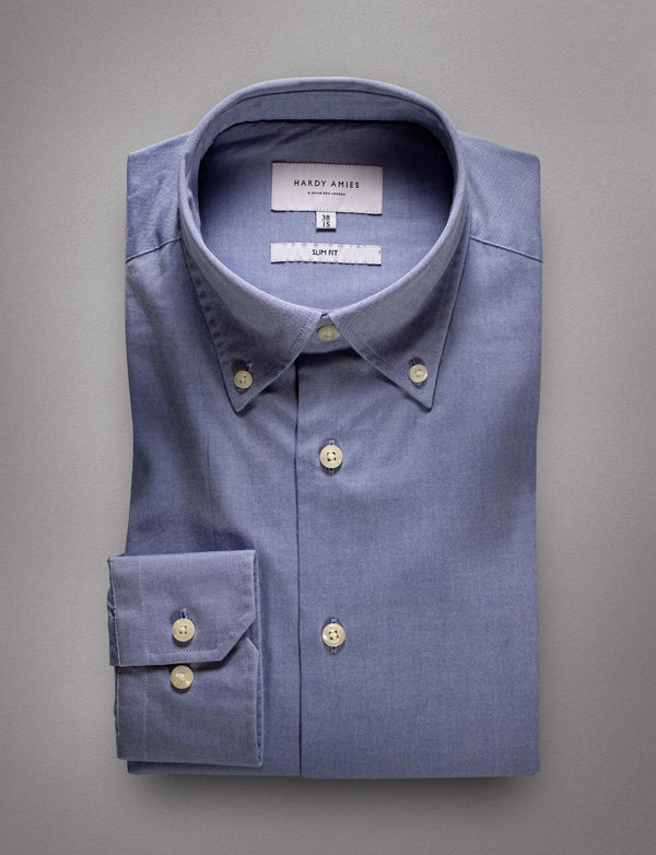 Oxford Button Down Shirt (Slim Fit)