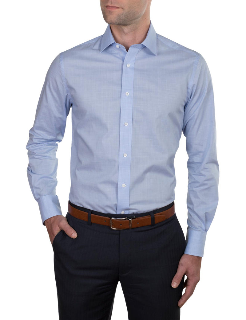 Superfine Check Business Shirt