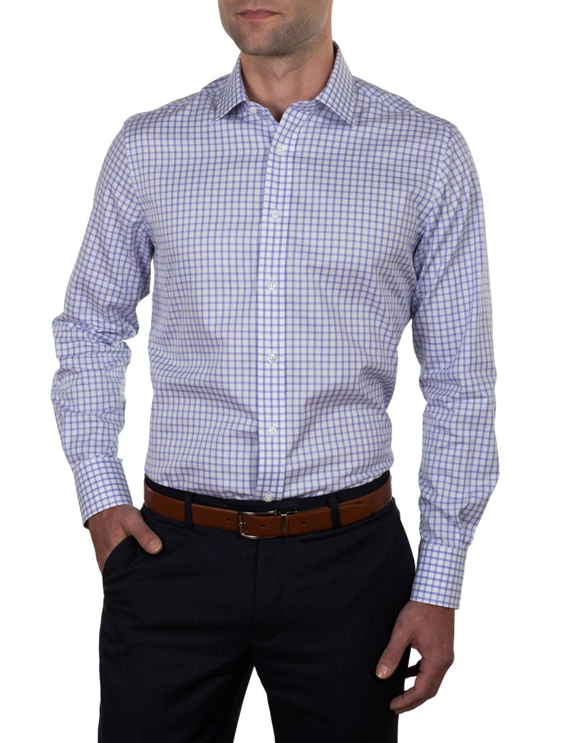 Bold Check Business Shirt