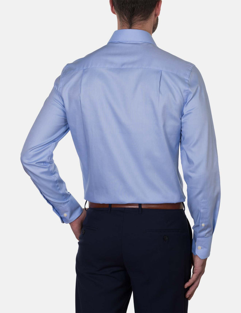 Blue Oxford Business Shirt (Slim Fit)