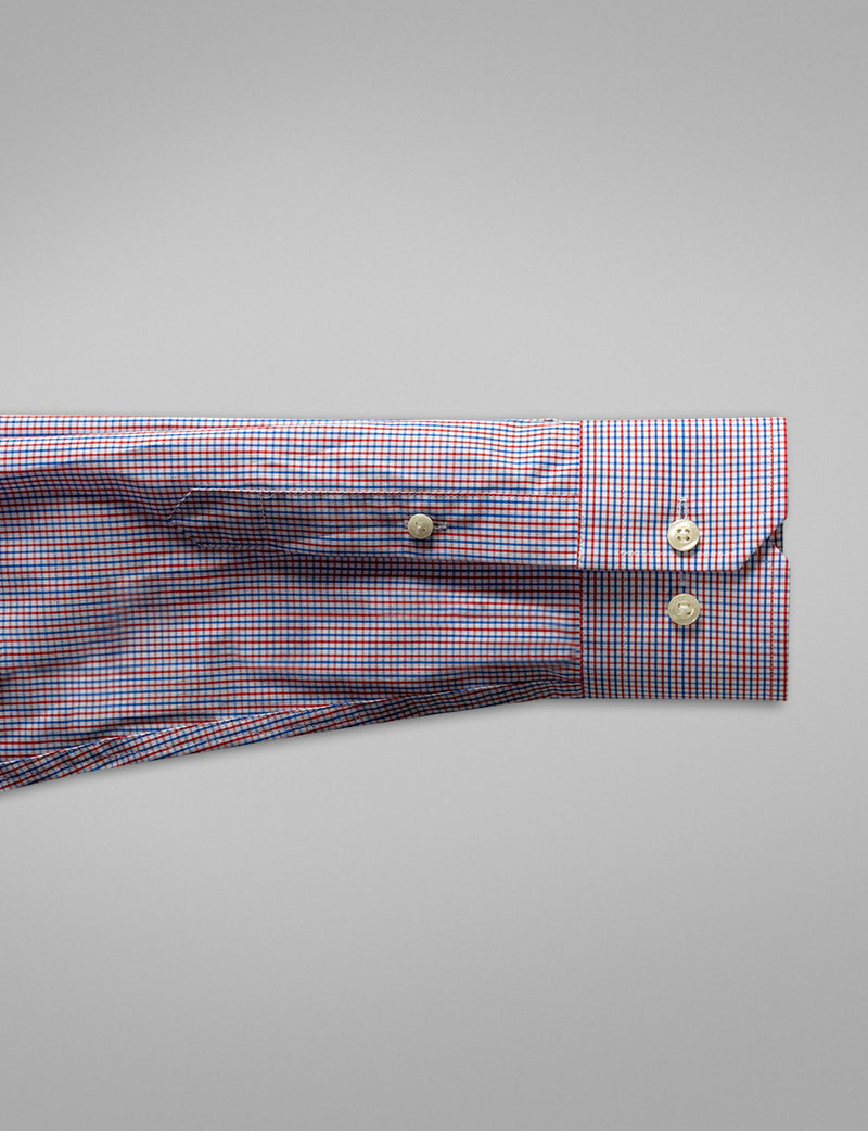 Bold Two Tone Check Business Shirt (Contemporary Fit)
