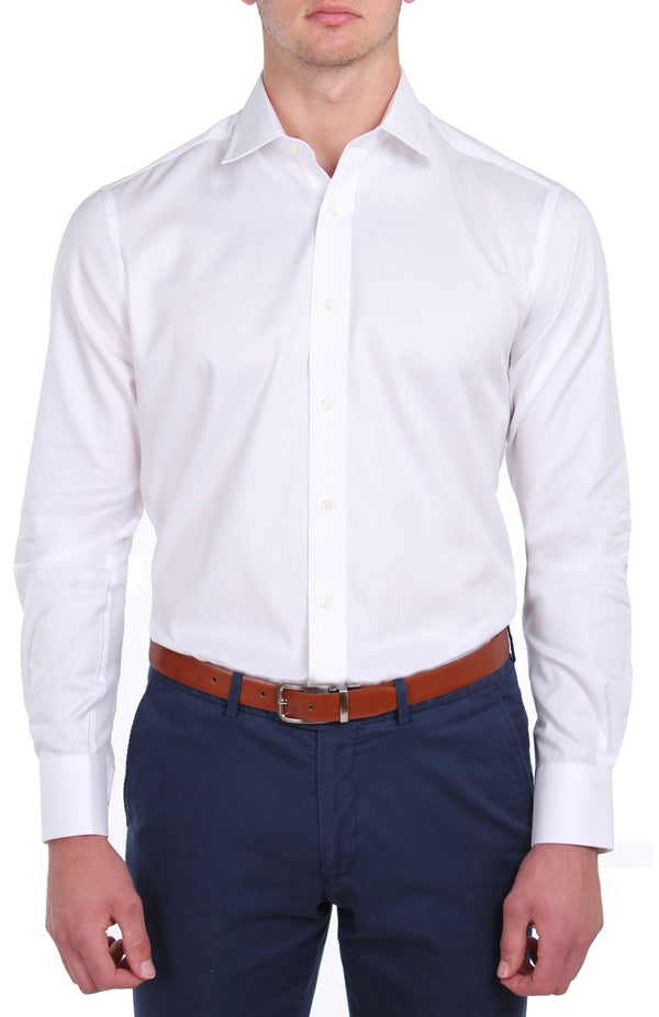 White Oxford Business Shirt (Contemporary Fit)