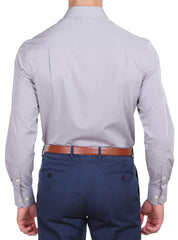 PLAIN GREY MELANGE SHIRT