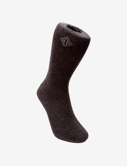 Charcoal Cotton Socks