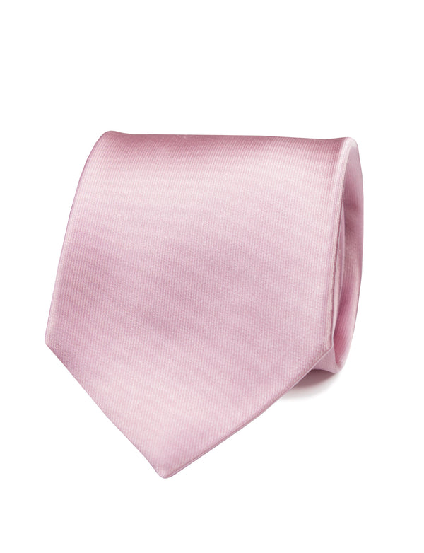 Blush Satin Italian Silk Tie