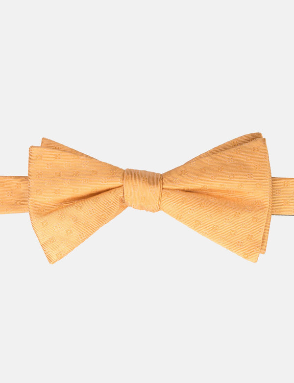 Sunflower Silk Bow Tie