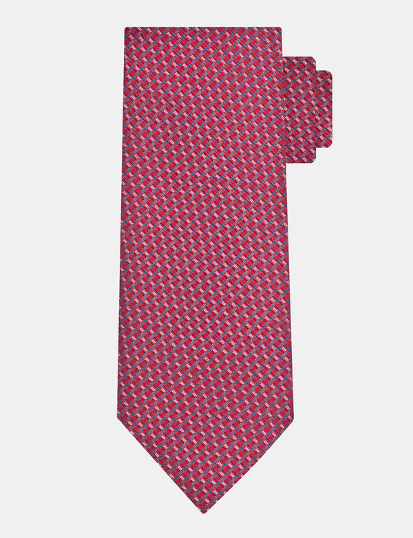 Classic Red Silk Tie