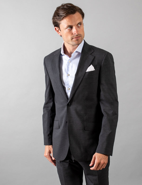 Charcoal Classic Suit Jacket