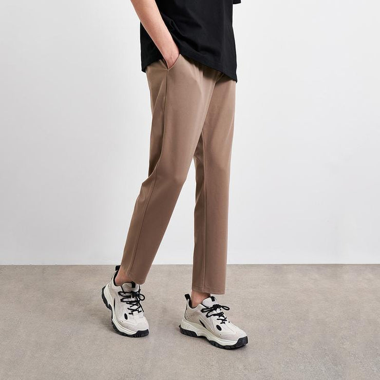 Fashion Simple Drawstring Pants - Urban Revivo Fashion