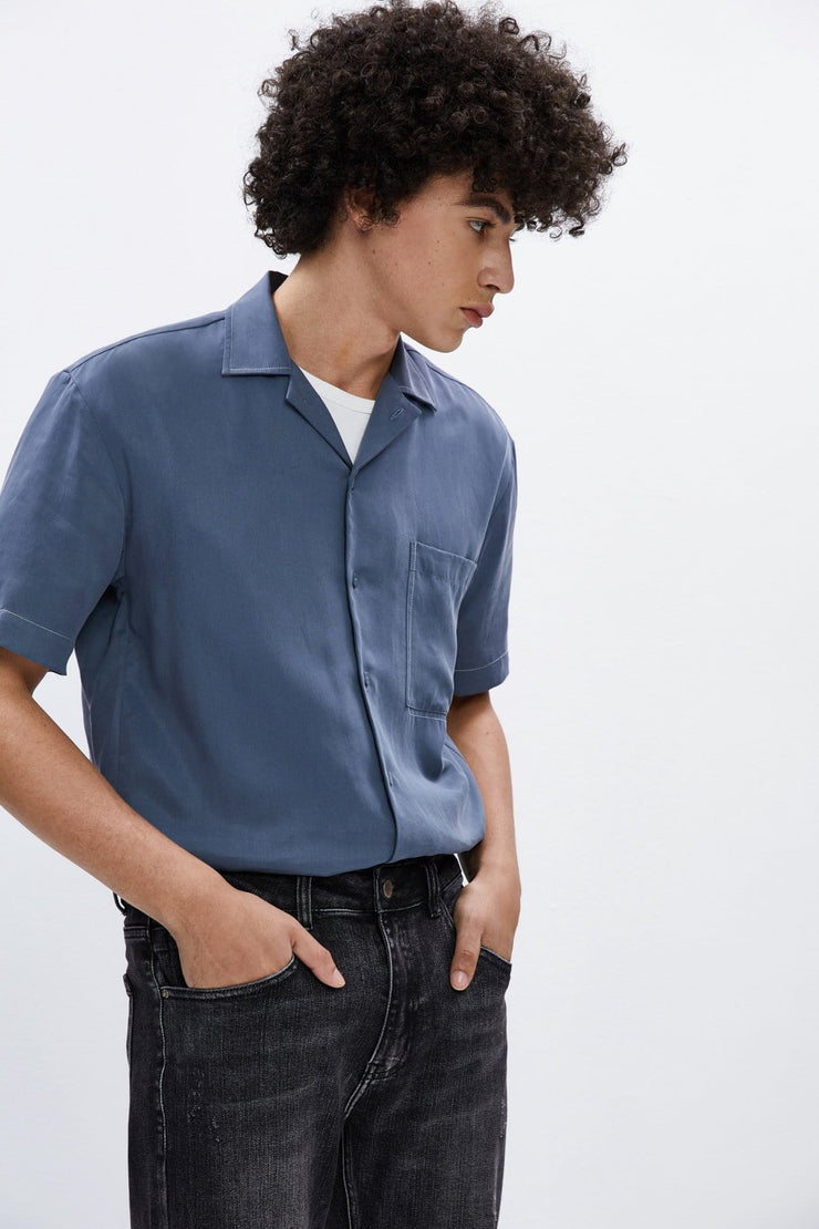 MODERN POCKET SHIRT - Urban Revivo Fashion
