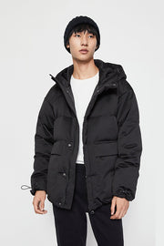 WORKWEAR CASUAL DOWN JACKET - Urban Revivo Fashion