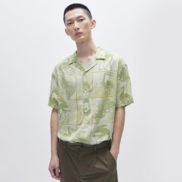 MEN'S PRINT ANIMAL SHIRT - Urban Revivo Fashion