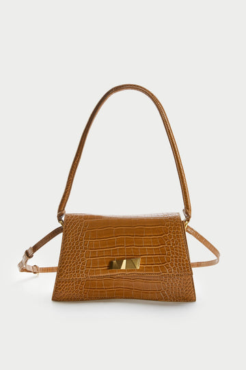 WOMEN'S EMBOSSED SPLIT SUEDE CROSSBODY BAG - Urban Revivo Fashion