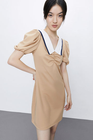 TEMPERAMENT IS THE LANTERN SLEEVE DRESS - Urban Revivo Fashion