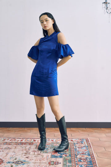 THE TIDE OF WAIST DRESS - Urban Revivo Fashion