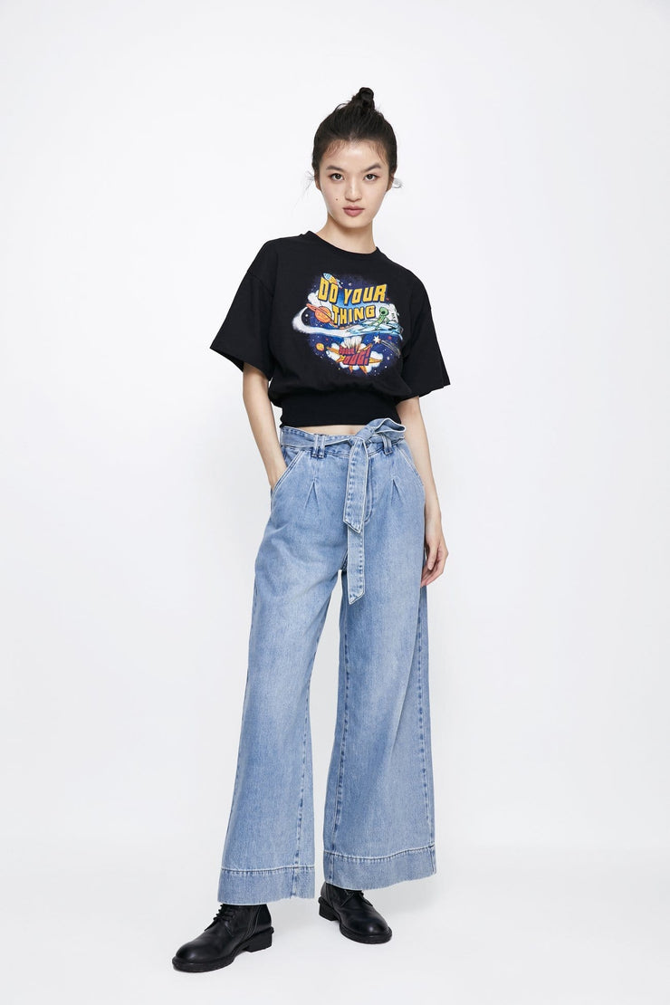 Loose Fit Jeans - Urban Revivo Fashion
