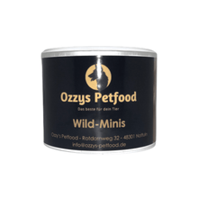 Lade das Bild in den Galerie-Viewer, Ozzy Dog Wild Minis 125g