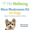 More Mushrooms Kit for Dog Cancer