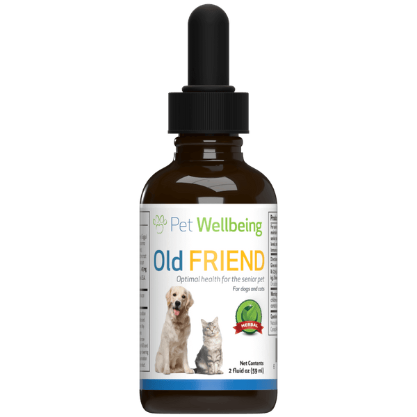 Old Friend for Senior Cats supports Joint Mobility, Immune System