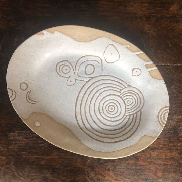 Marguerita Hagan, Grand Platter: Neolithic petroglyph of oldest known recording of total solar eclipse (Ireland) by Celts/Druids