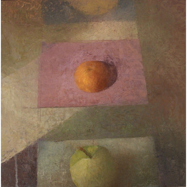 Melissa Husted-Sherman, Orange on Pink