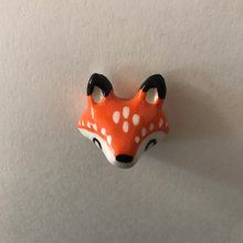 Load image into Gallery viewer, Fox Porcelain Magnet