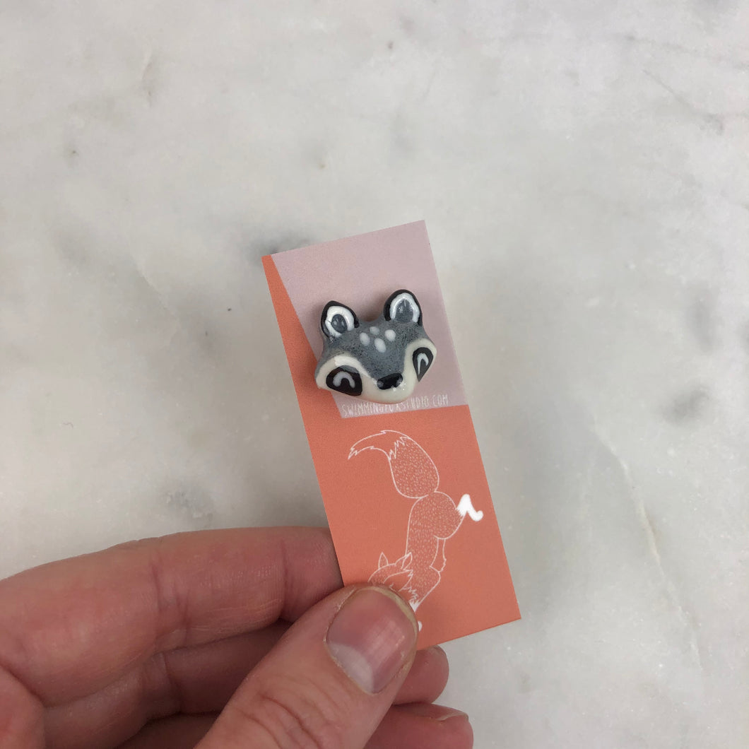 Raccoon Animal Lapel Pins