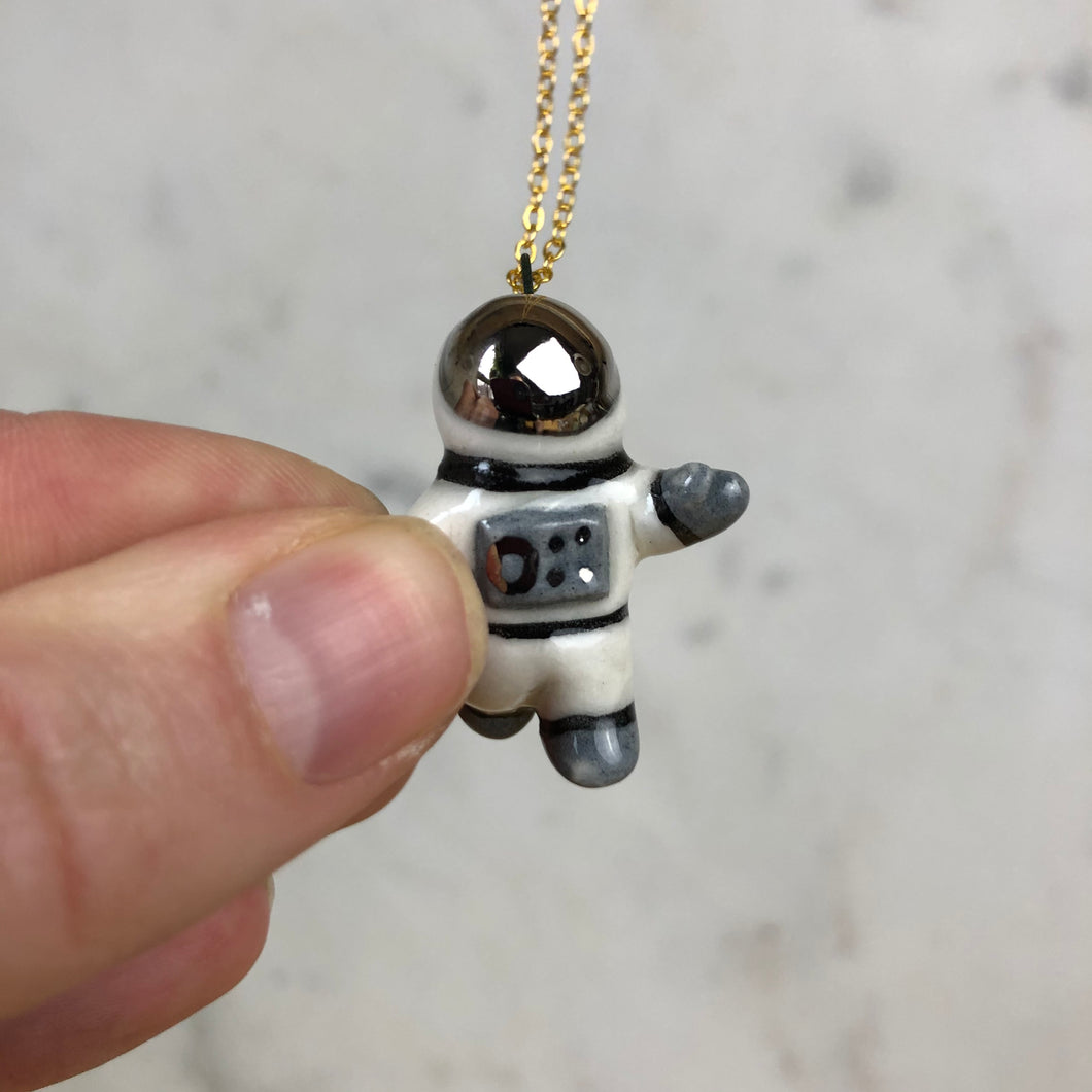 Astronaut Pendent Necklace