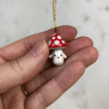 Load image into Gallery viewer, Mushroom Pendent Necklace