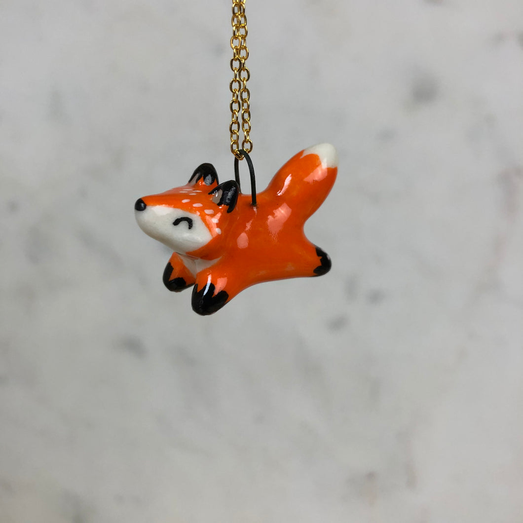 Fox Pendent Necklace