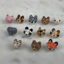 Load image into Gallery viewer, Raccoon Animal Lapel Pins