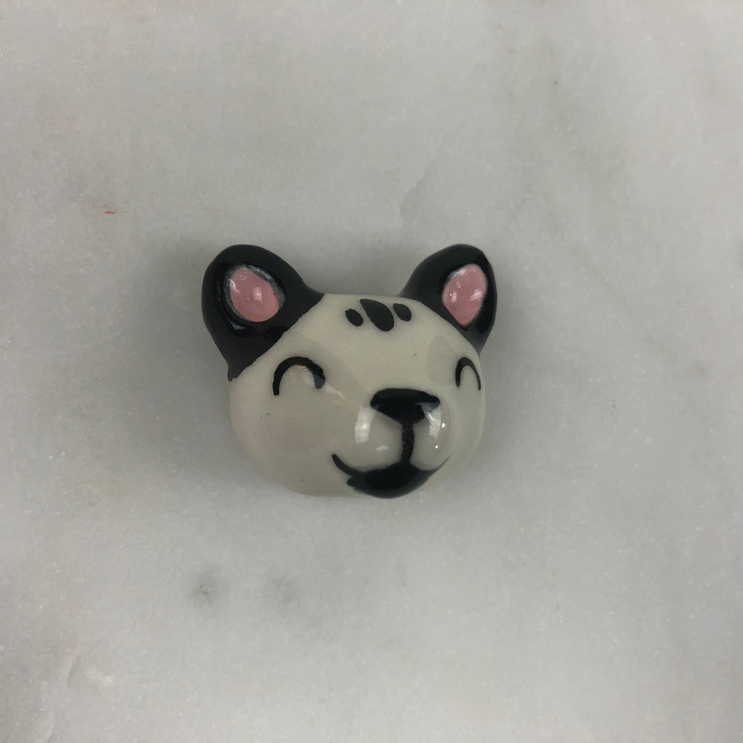 Cat Porcelain Magnet
