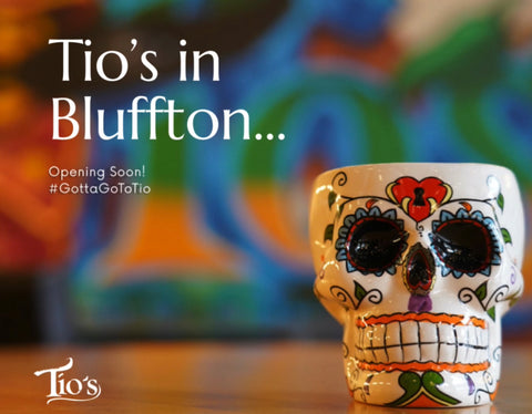 Tio's Latin American Kitchen will be opening in Bluffton, SC in 2021!