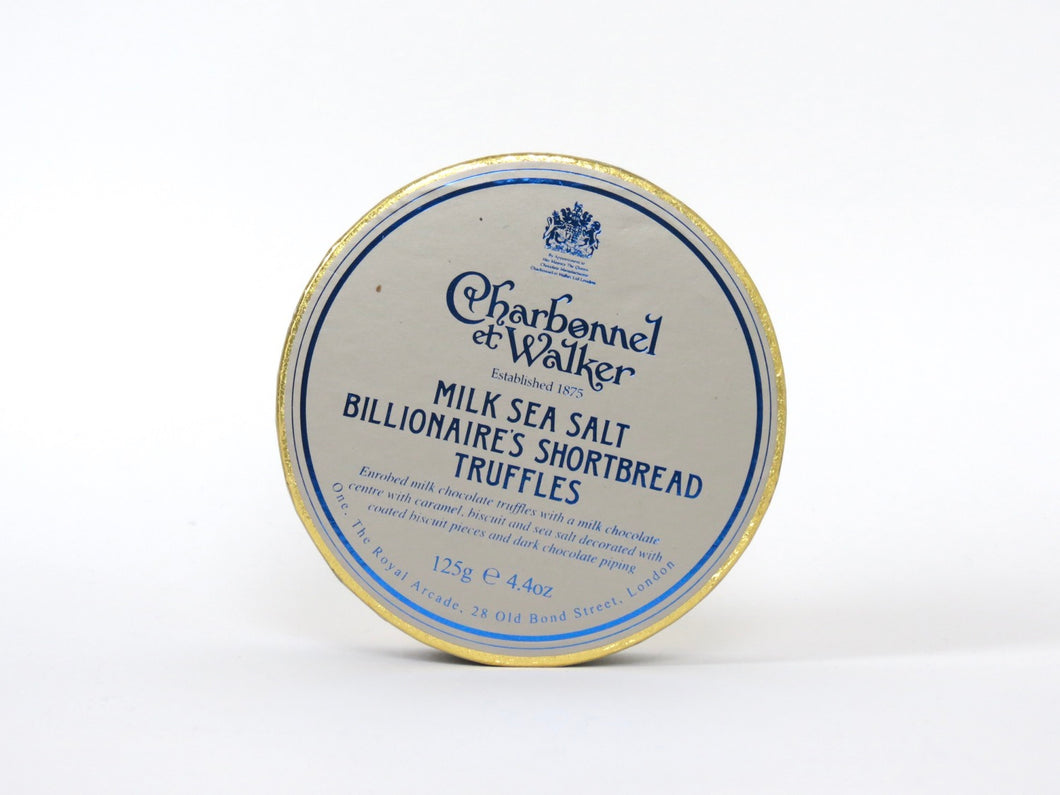 Charbonnel et Walker Milk Sea Salt Billionaire Shortbread Truffles