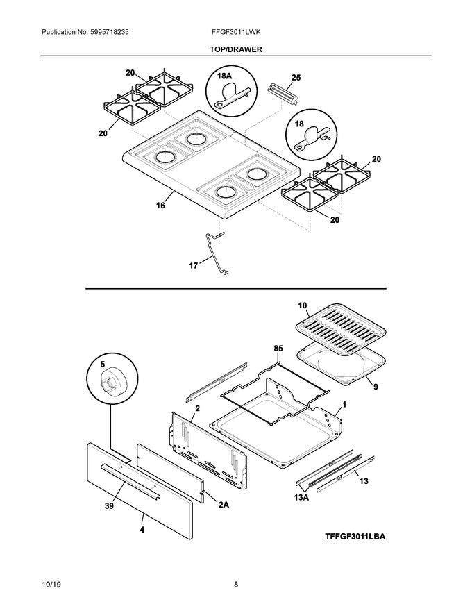 316115600 Genuine OEM Frigidaire Part