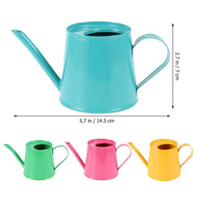 Load image into Gallery viewer, Mini iron Watering Can - Choice of 4 different colours