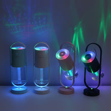 Load image into Gallery viewer, Executive 360 Rotating Air Humidifier / Oil Diffuser 200ML 7 Colour LED Lights