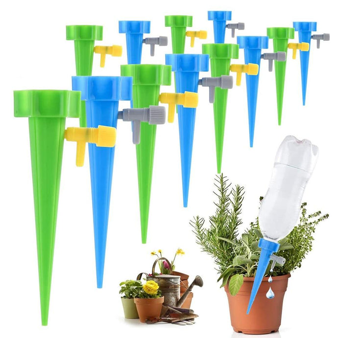 12/24/36 Pieces Indoor or Outdoor Plant Watering Dripper Spikes