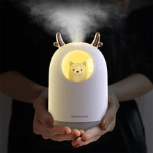 Load image into Gallery viewer, Cute Cat Ultrasonic Air Humidifier / Oil Diffuser 300ml