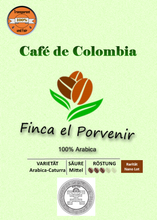Load the picture into the gallery viewer,Finca El Porvenir - rarity - 250g