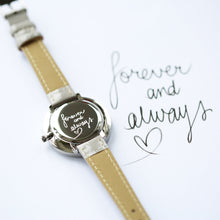 Load image into Gallery viewer, Handwriting Engraved Anaii Watch In Flint Grey - Wear We Met