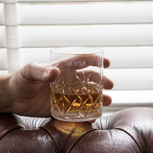 Crystal Cut Whisky Glass