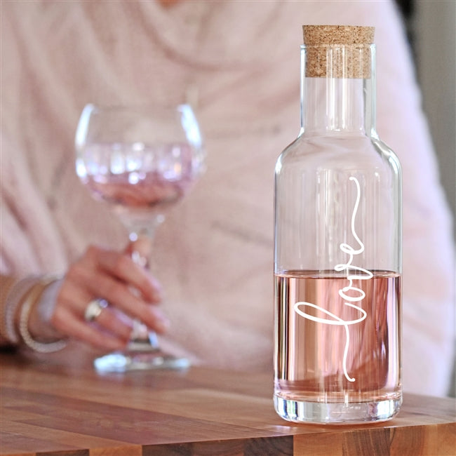 Love Corked Decanter