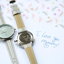 Load image into Gallery viewer, Handwriting Engraved Anaii Watch - Multiple colours