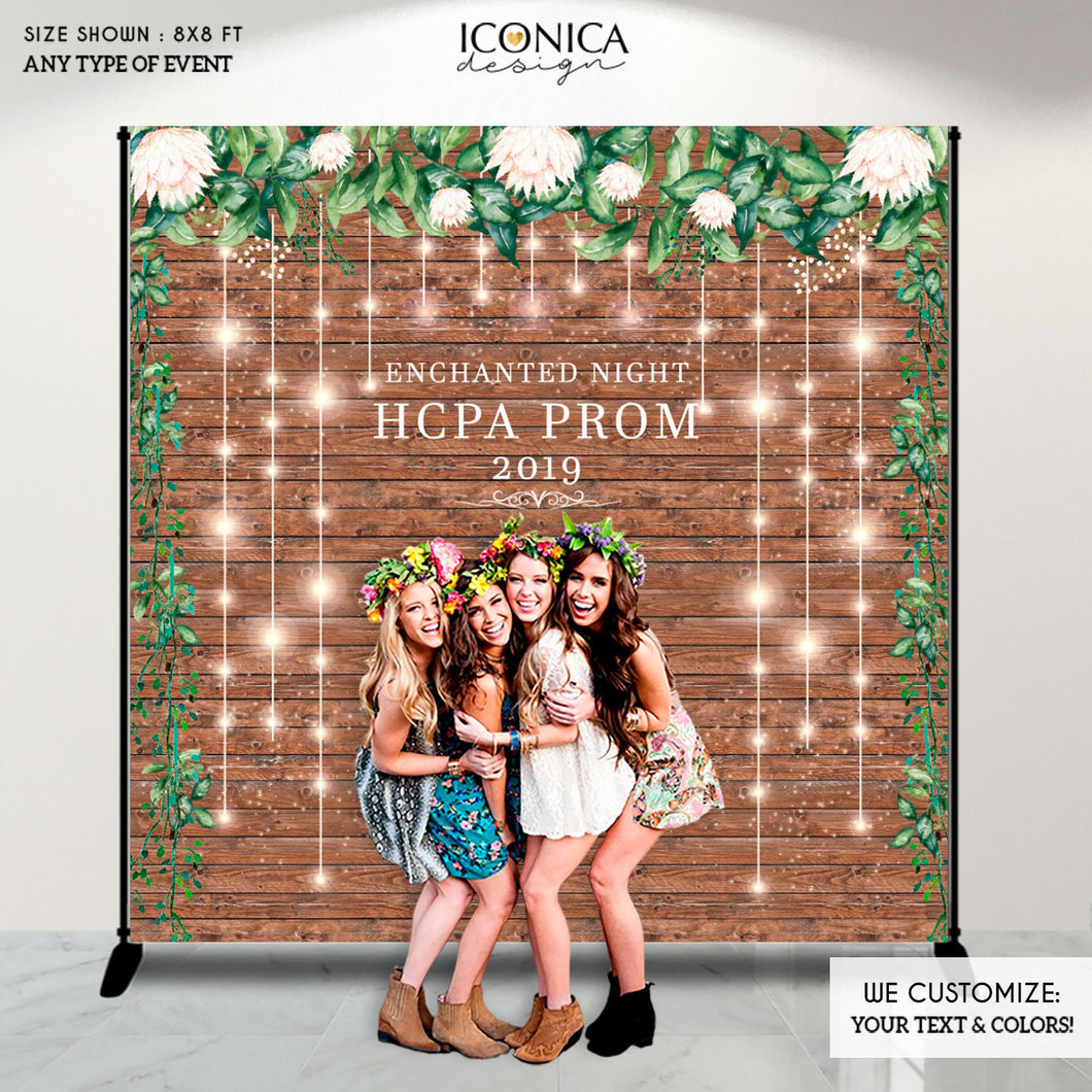 Graduation Party backdrop, Retirement, Prom Party Decorations, Rustic and Greenery backdrop, photo backdrop, Printed Or Digital File