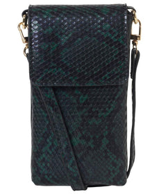 UNMADE Kaida Phone Bag Snake Green