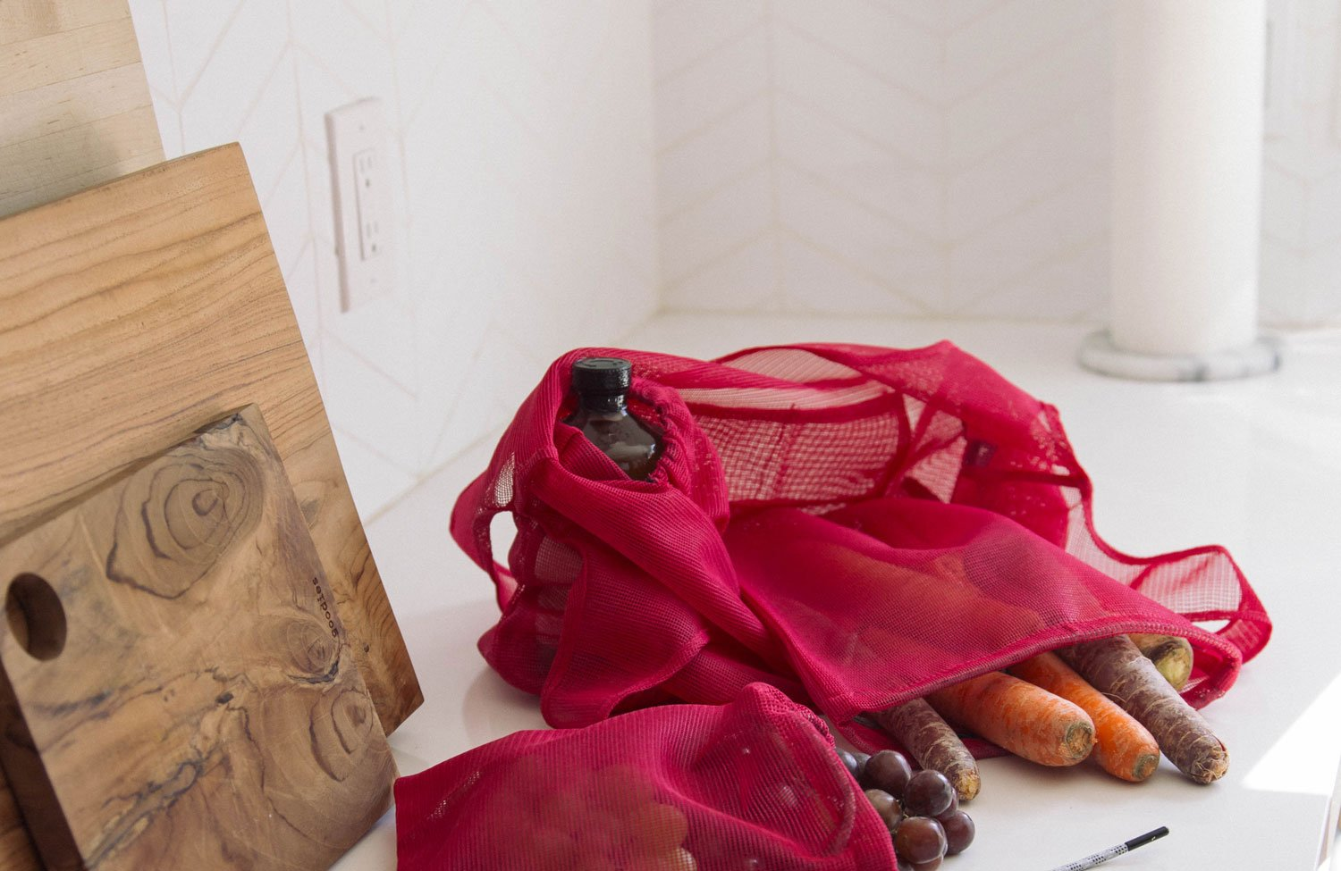 The Everyday Tote, Beetroot