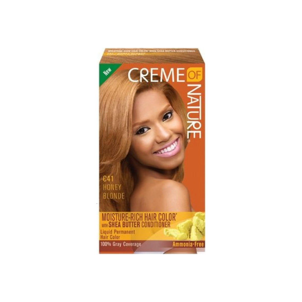 Creme Of Nature Moisture Rich Hair Color Honey Blond C41