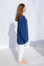 Load image into Gallery viewer, Unisex Sweater Blue